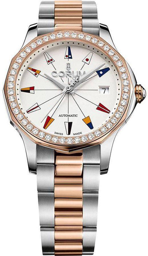 Corum Admiral Legend 38 Diamond Women's Watch 082.200.29/V200 AA14