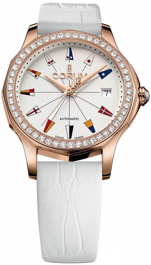 Corum Admiral Legend 38 Rose Gold Women's Watch 082.200.85/0009 AA13