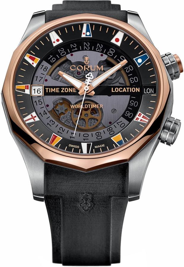 Corum Admiral Legend 47 Worldtimer Men's Watch 637.101.05/F371 AN01
