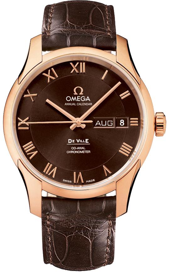 Omega De Ville Brown Dial Men's Watch 431.53.41.22.13.001