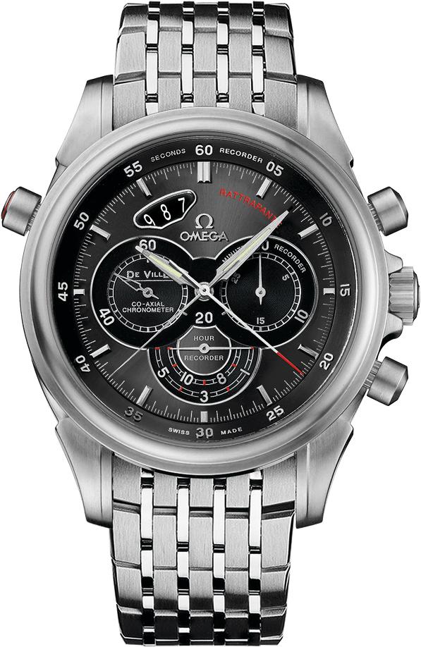 Omega De Ville Chronoscope Rattrapante Men's Watch 422.10.44.51.06.001
