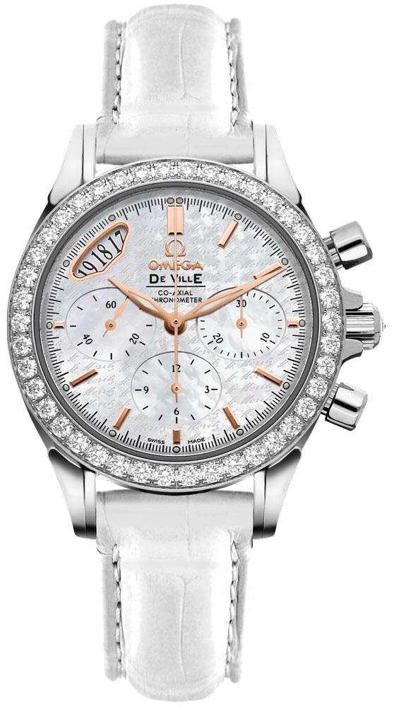 Omega De Ville Diamond Luxury Women's Watch 422.18.35.50.05.001