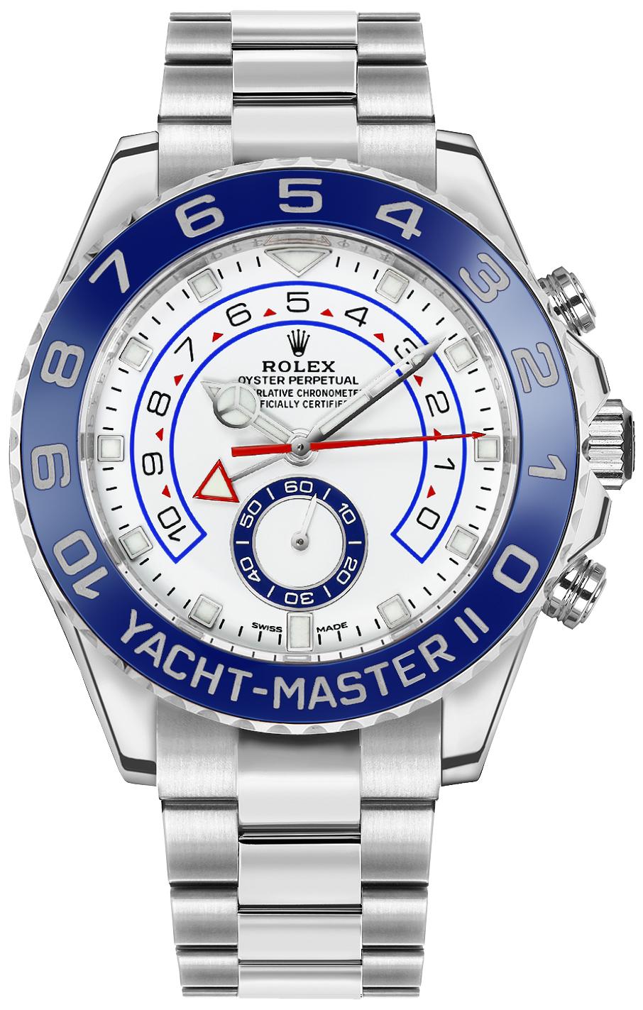 Rolex Yacht-Master II Men's Luxury Watch 116680