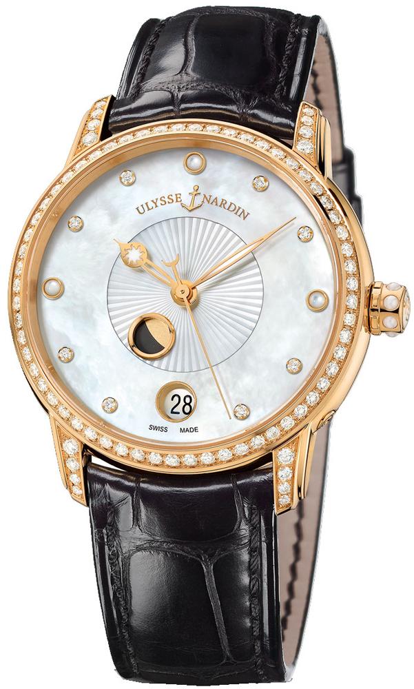 Ulysse Nardin Classico Luna Luxury Women's Watch 8296-123BC-2/991