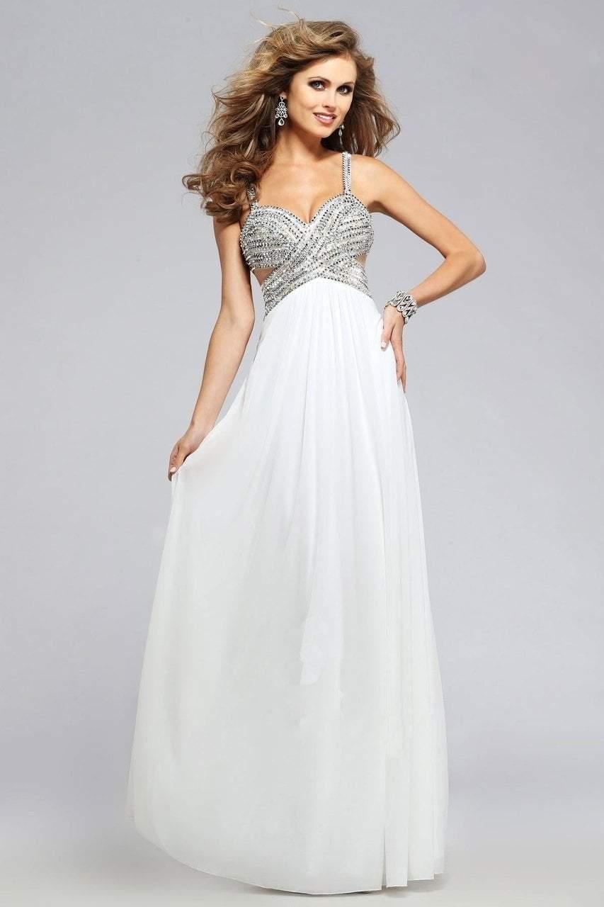 Faviana - Pretty Sweetheart Chiffon Dress 7710