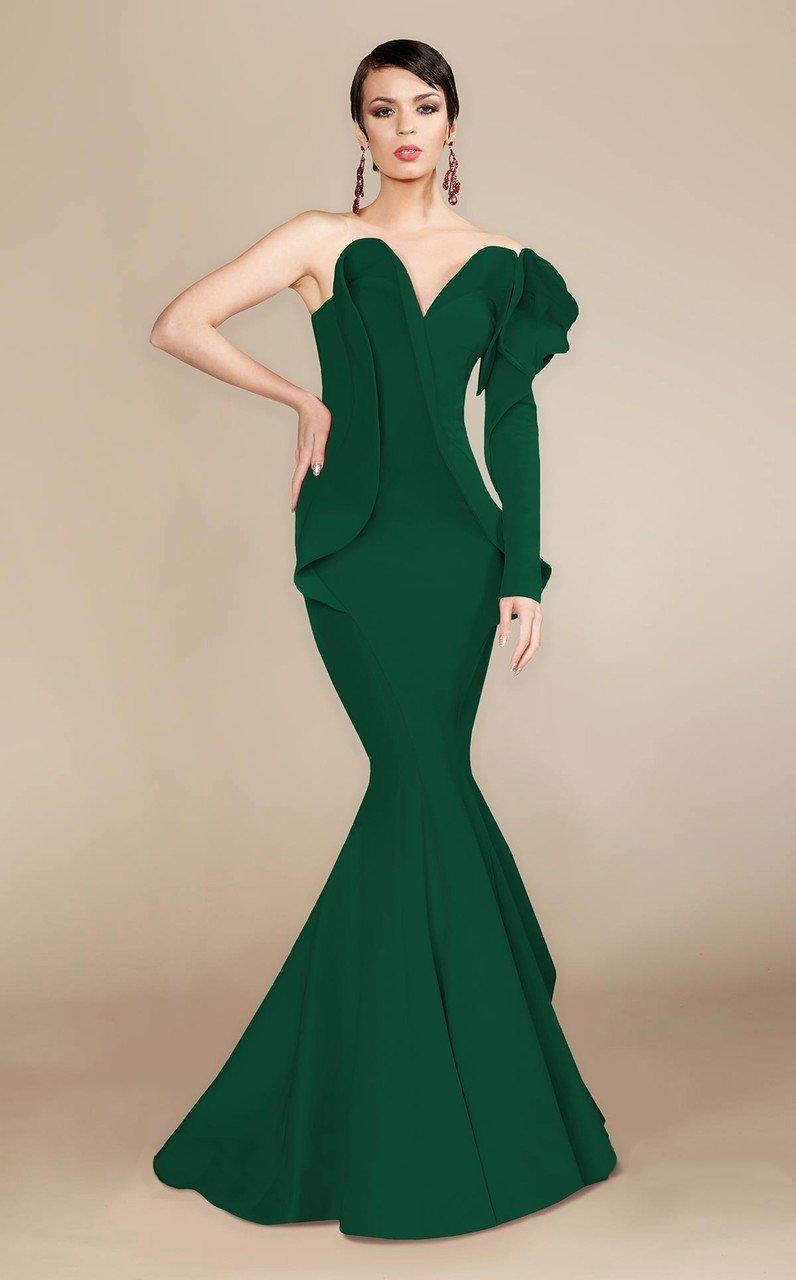 MNM Couture - 2327 Ruffled Sweetheart Mermaid Dress