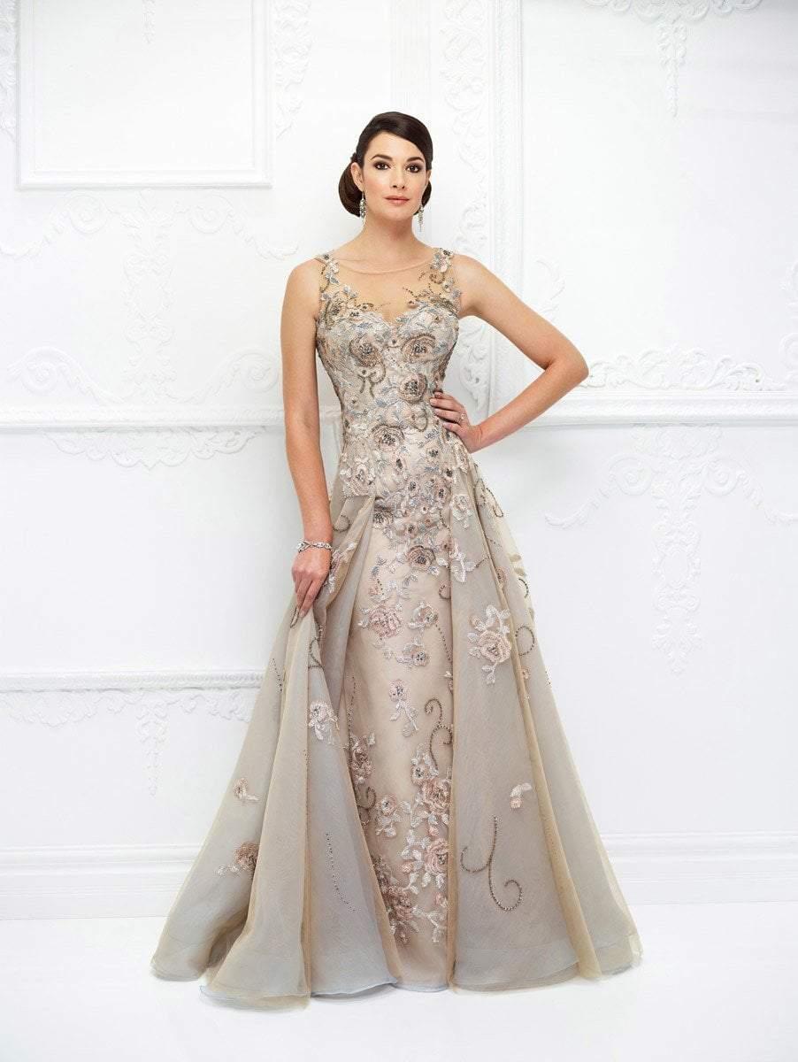 Ivonne D for Mon Cheri - 118D03 Straight Neck Sheath Dress with Bolero