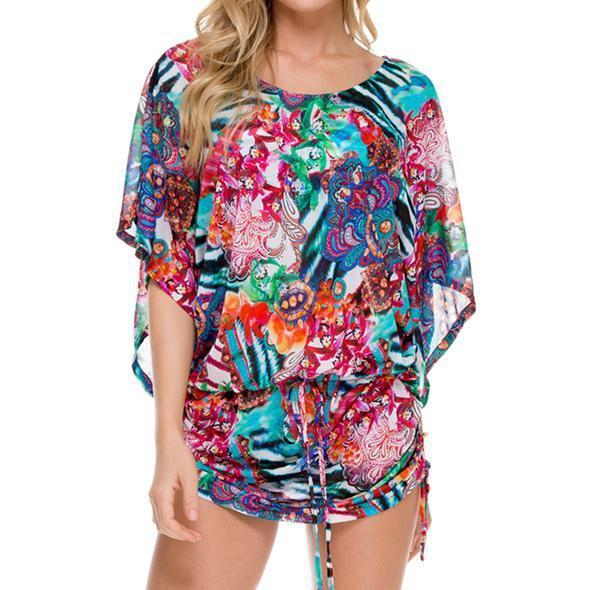 Luli Fama - South Beach Dress In Multicolor (L508968)