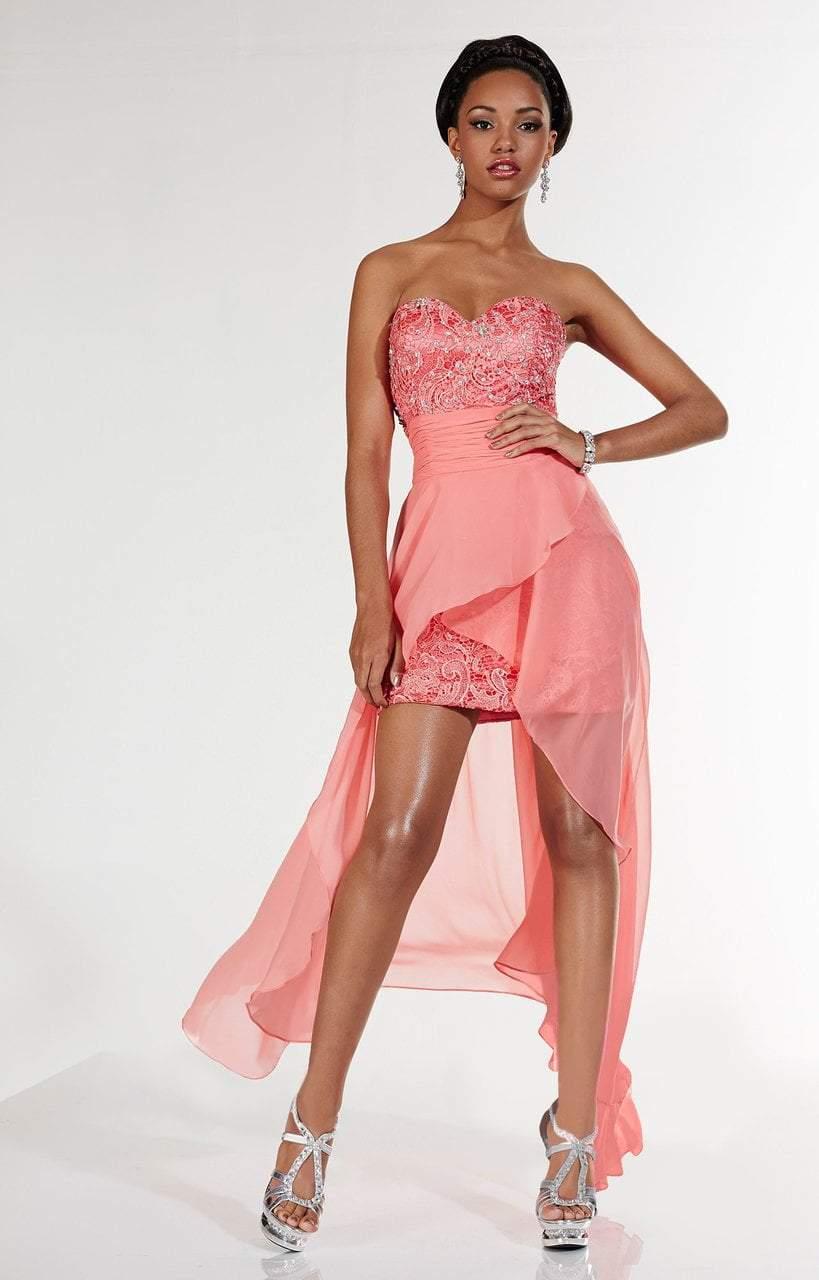 Studio 17 - 12486 Lace Sweetheart Sheath Dress