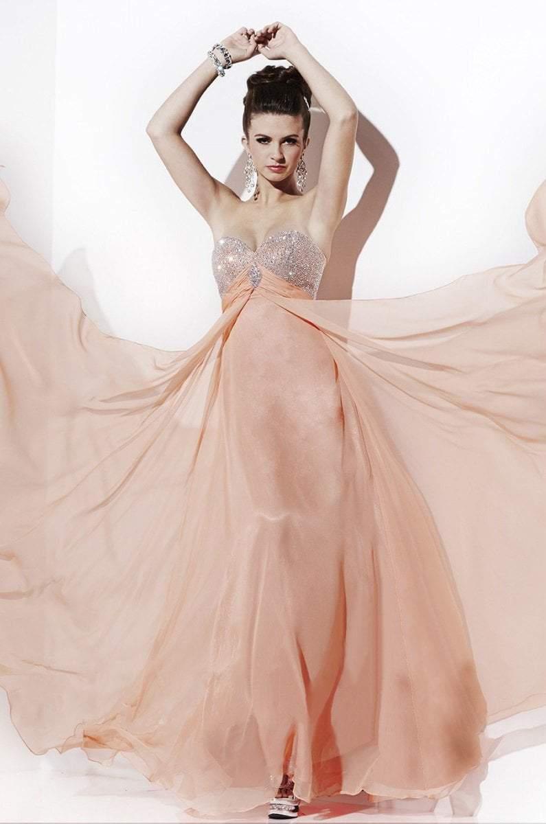 Studio 17 - 12494 Strapless Beaded Sweetheart Empire Gown