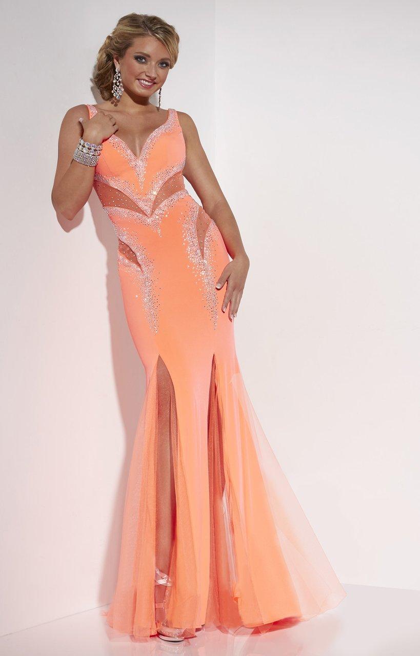 Studio 17 - 12546 Beaded Jersey Trumpet Dress