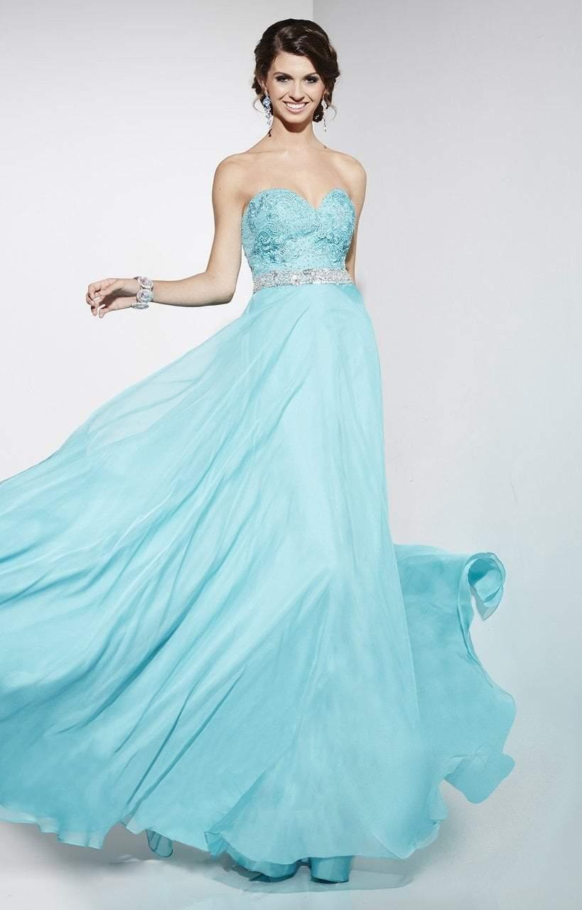 Studio 17 - 12549 Bedazzled Sweetheart A-Line Dress