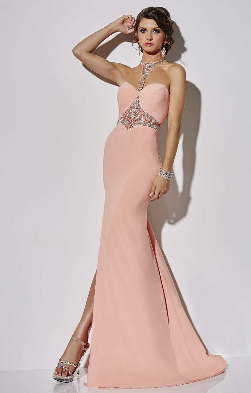 Studio 17 - 12557 Beaded Halter Sheath Dress