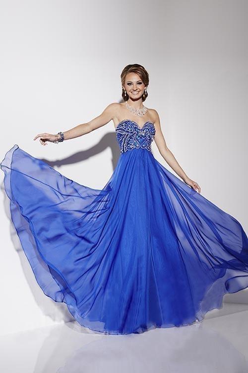 Studio 17 - 12569 Beaded Chiffon A-line Dress