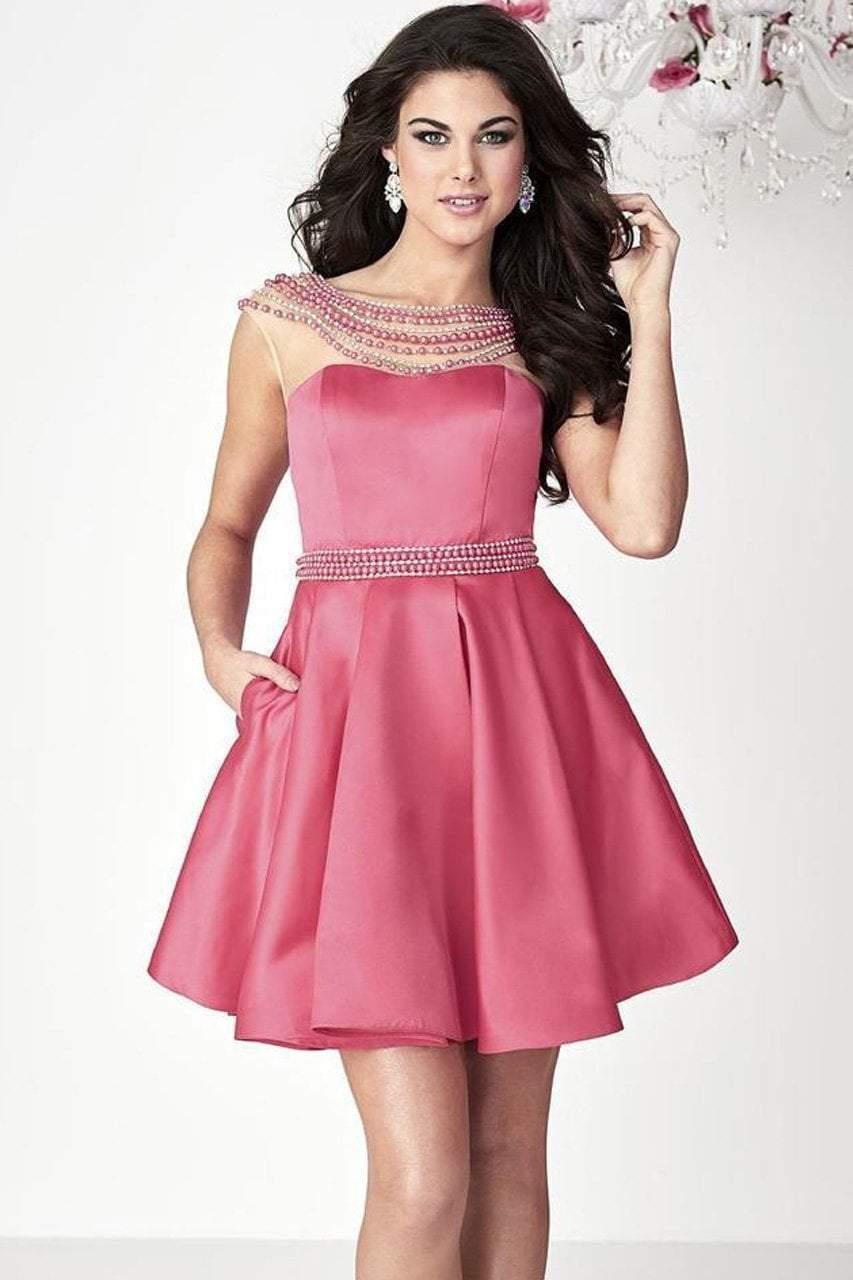 Tiffany Homecoming - 27133 Lovely Beaded Dress