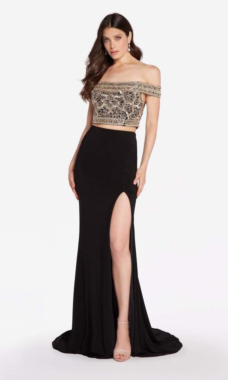 Alyce Paris - 60192 Metallic Embroidered Two Piece Dress