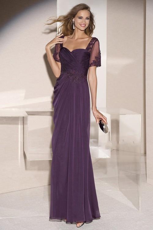 Alyce Paris - Mother of the Bride - 29580 Dress in Amethyst