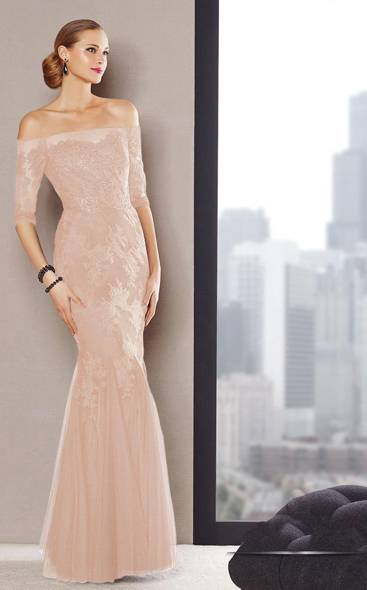 Alyce Paris - 29722 Dress In Desert Peach