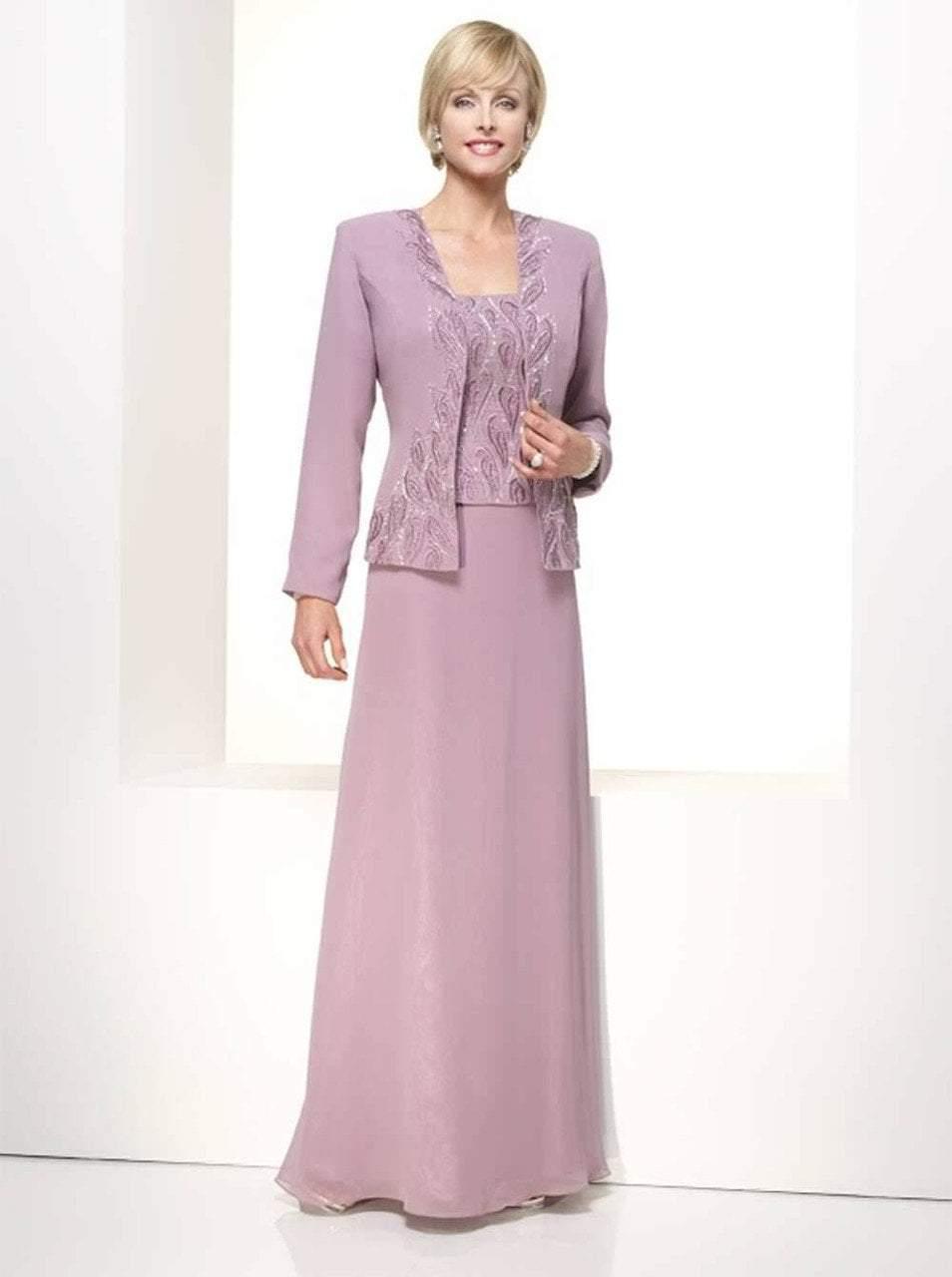 Alyce Paris - 29953 Long Dress In Peach