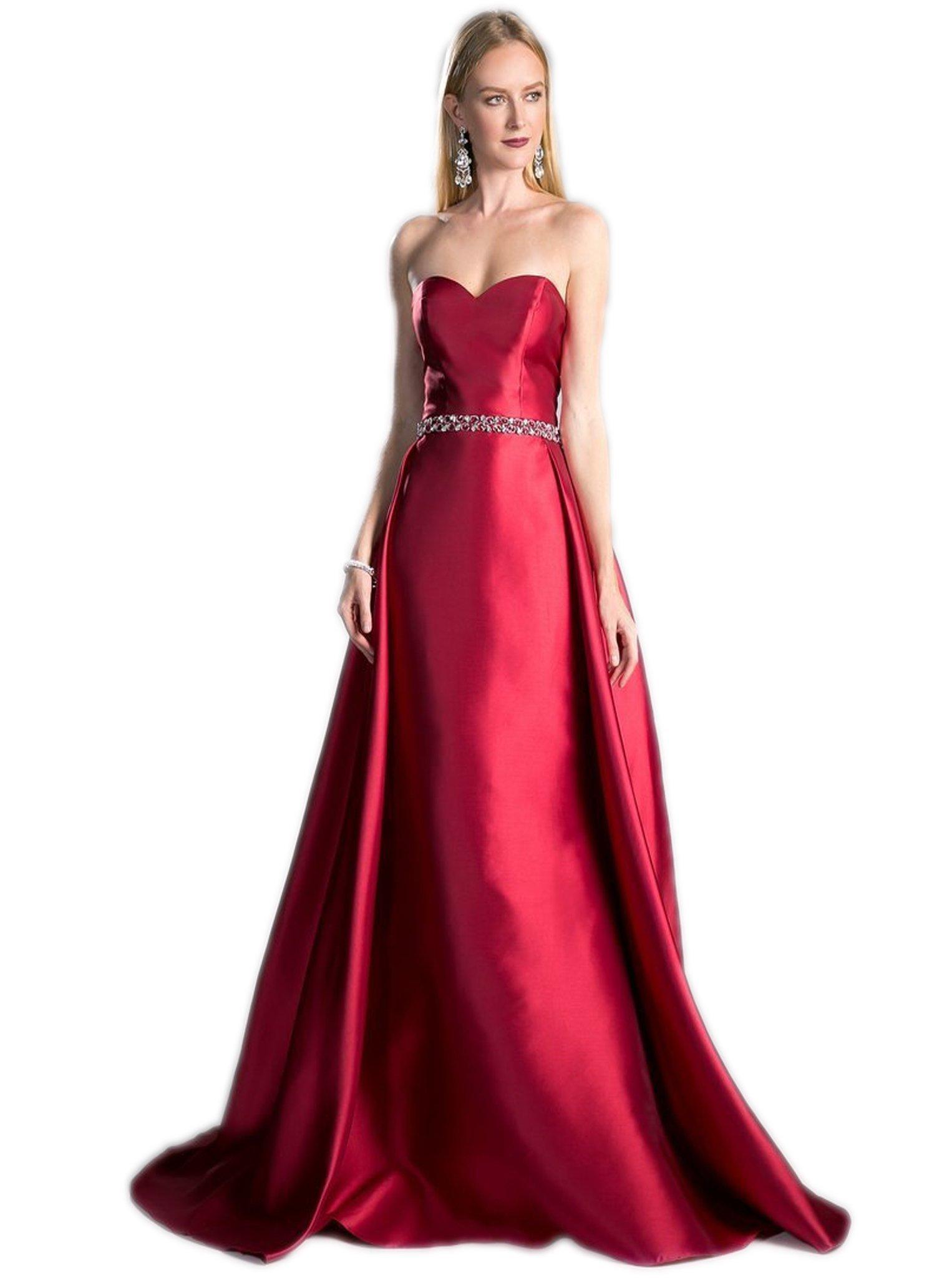 Cinderella Divine - 455 Strapless Embellished Sweetheart Ballgown