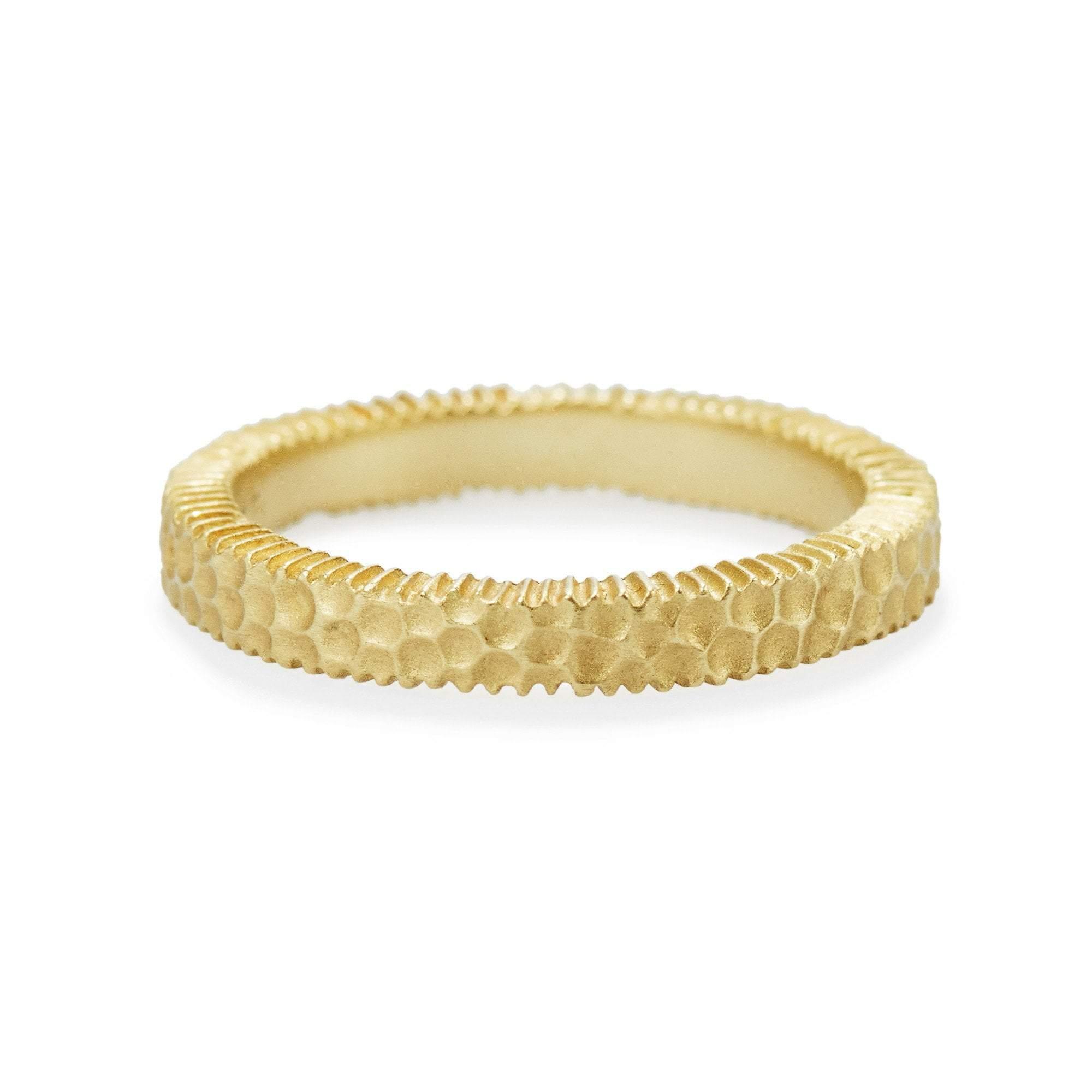 Elizabeth Buenaventura - Hammered Harmoy Ring