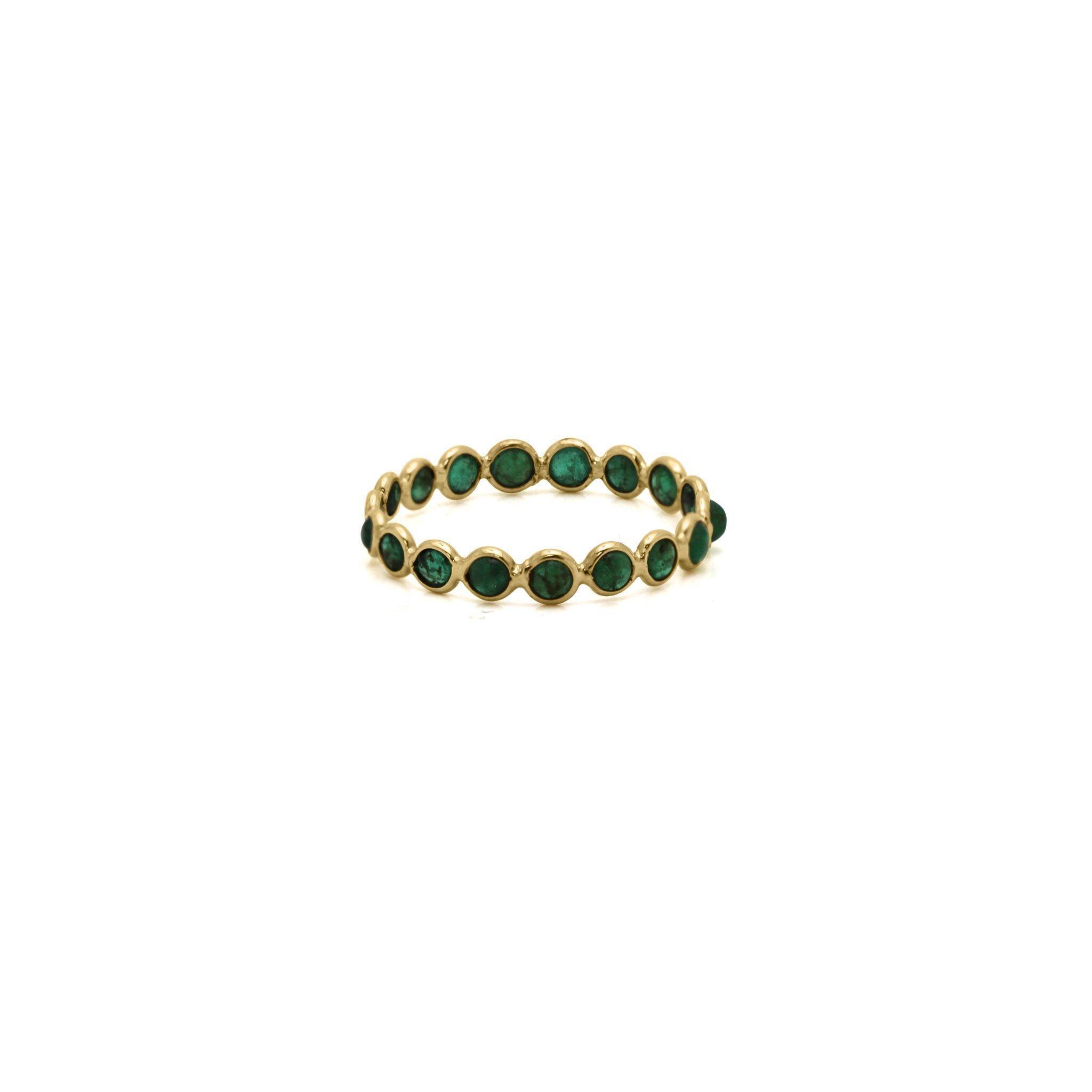Tresor Collection - Emerald Rd CB. Ring in 18k YG
