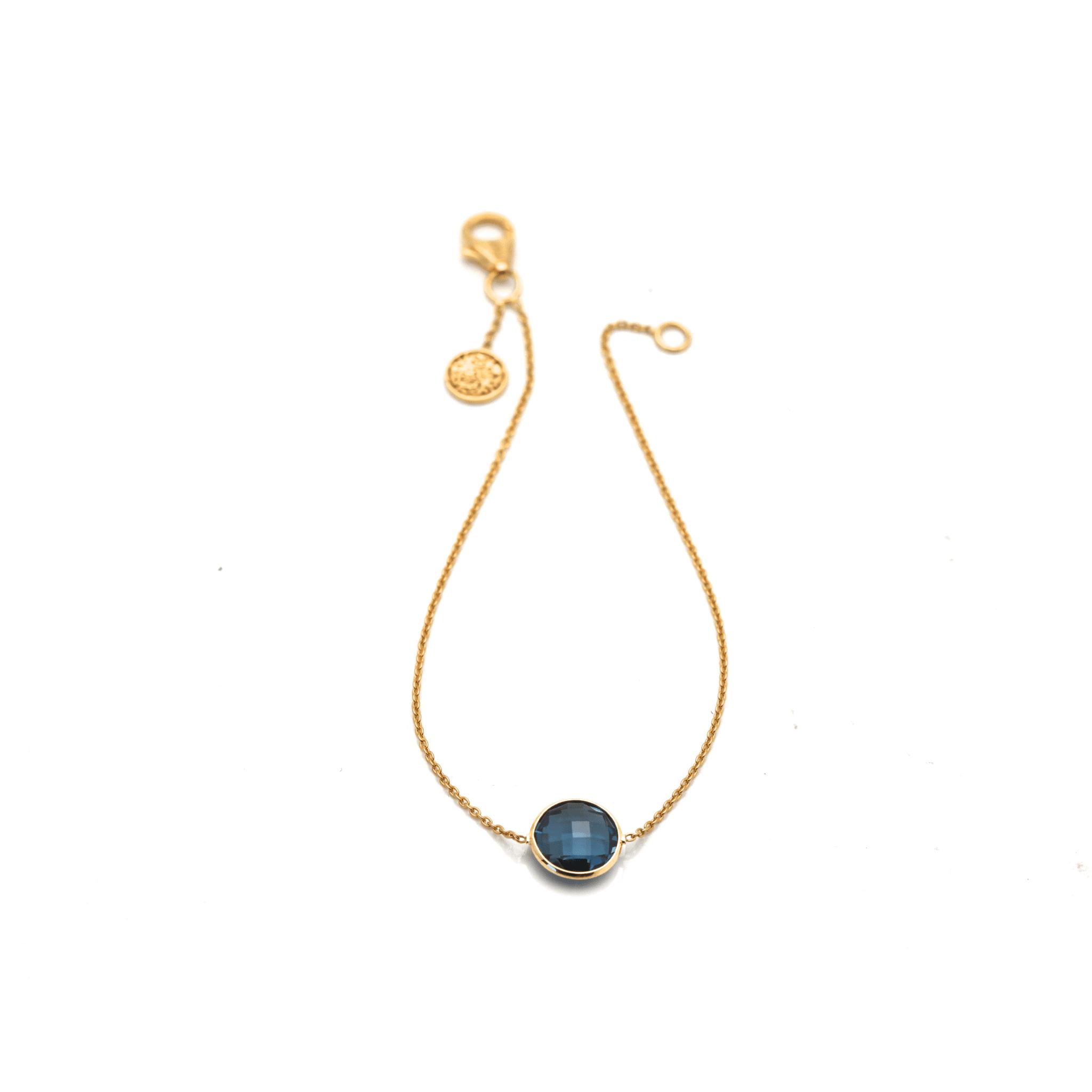 Tresor Collection - Gemstone Single Stone Bracelet In 18k Yellow Gold