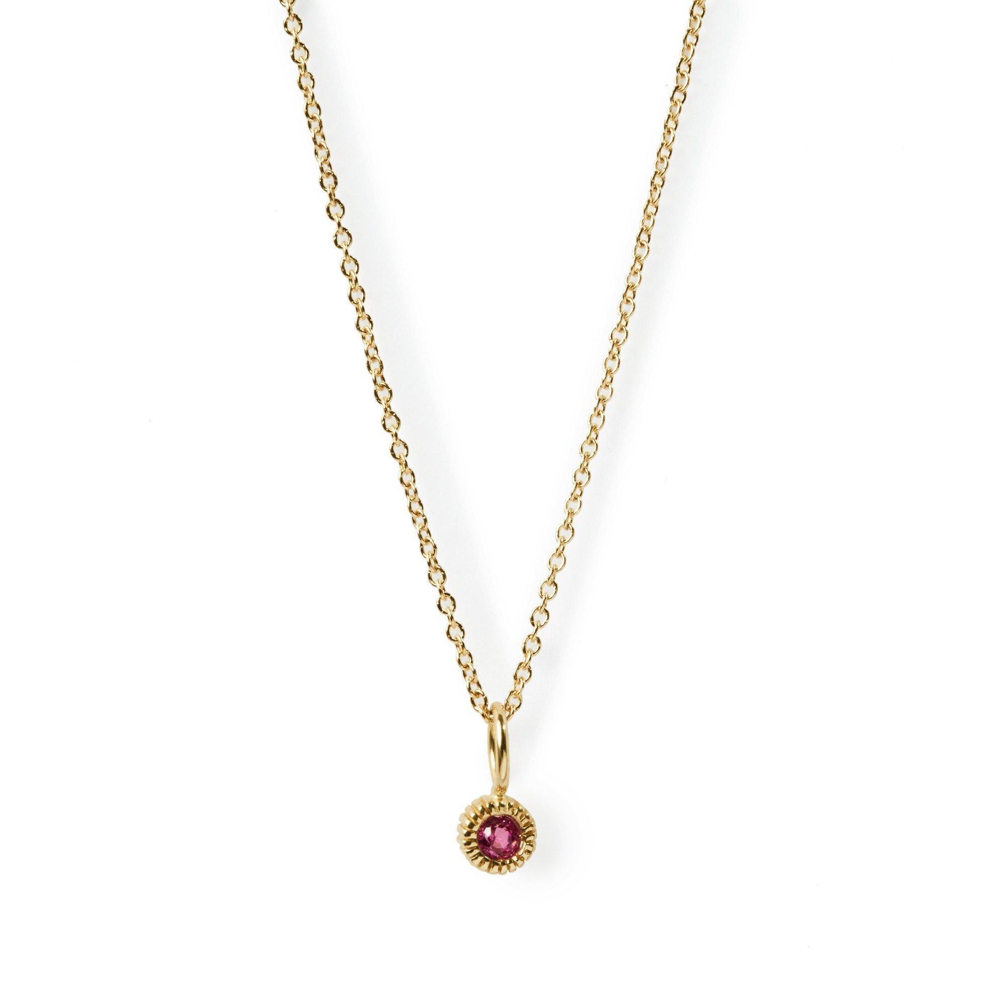 Elizabeth Buenaventura - Youth Pink Tourmaline Necklace