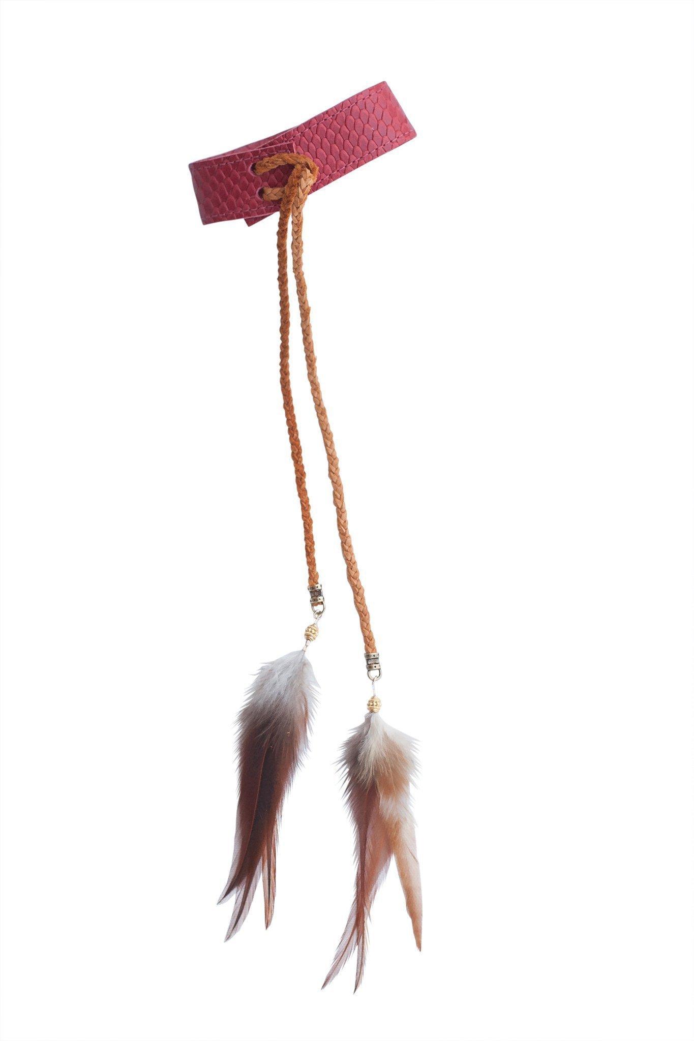 Heather Gardner - Lakota Leather Arm Band