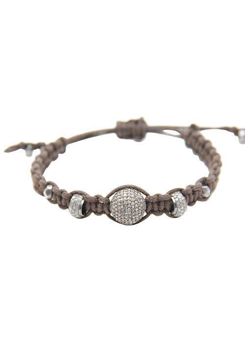 Heather Gardner - Macrame Diamond Bracelet