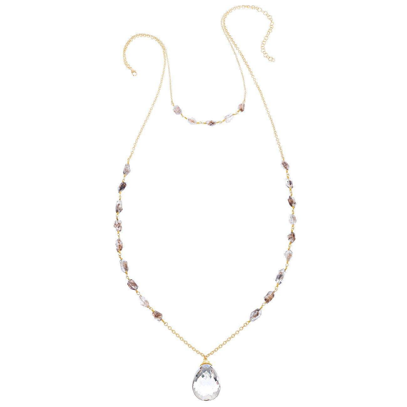 Heather Hawkins - Holiday Crystal Necklace