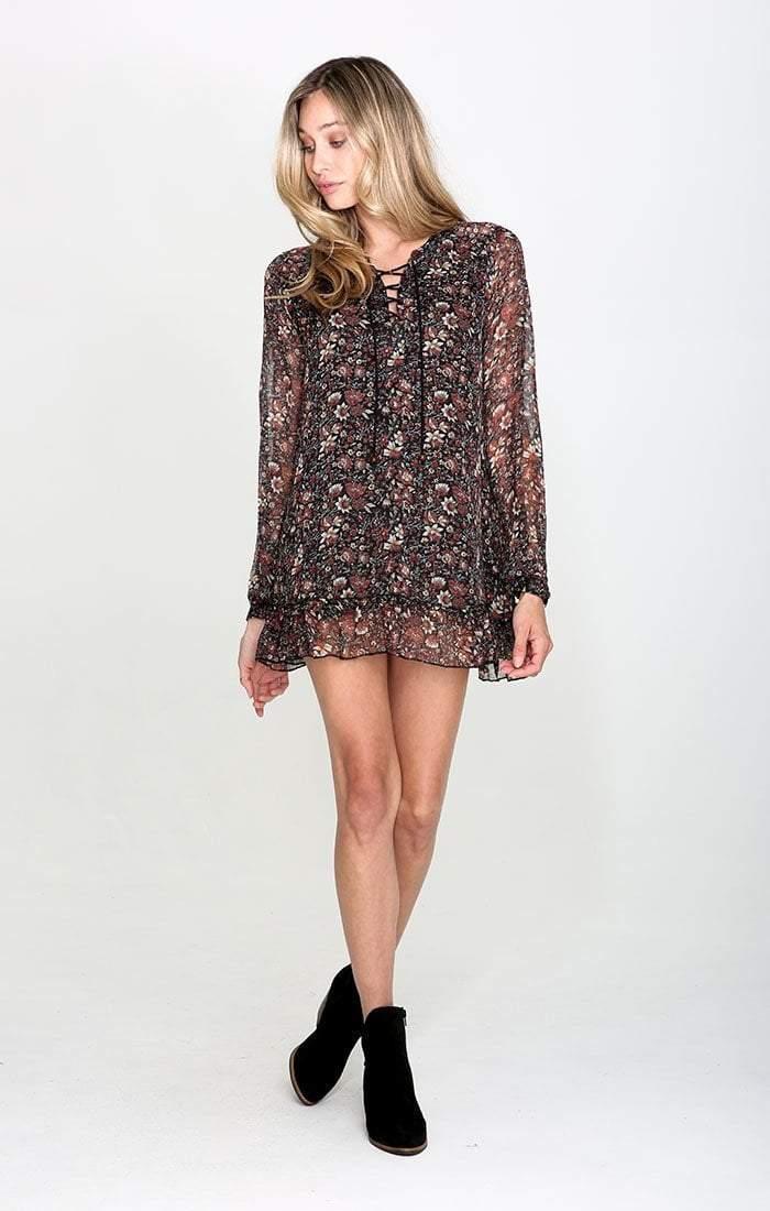 RAGA - The Eloise Ruffle Mini Dress