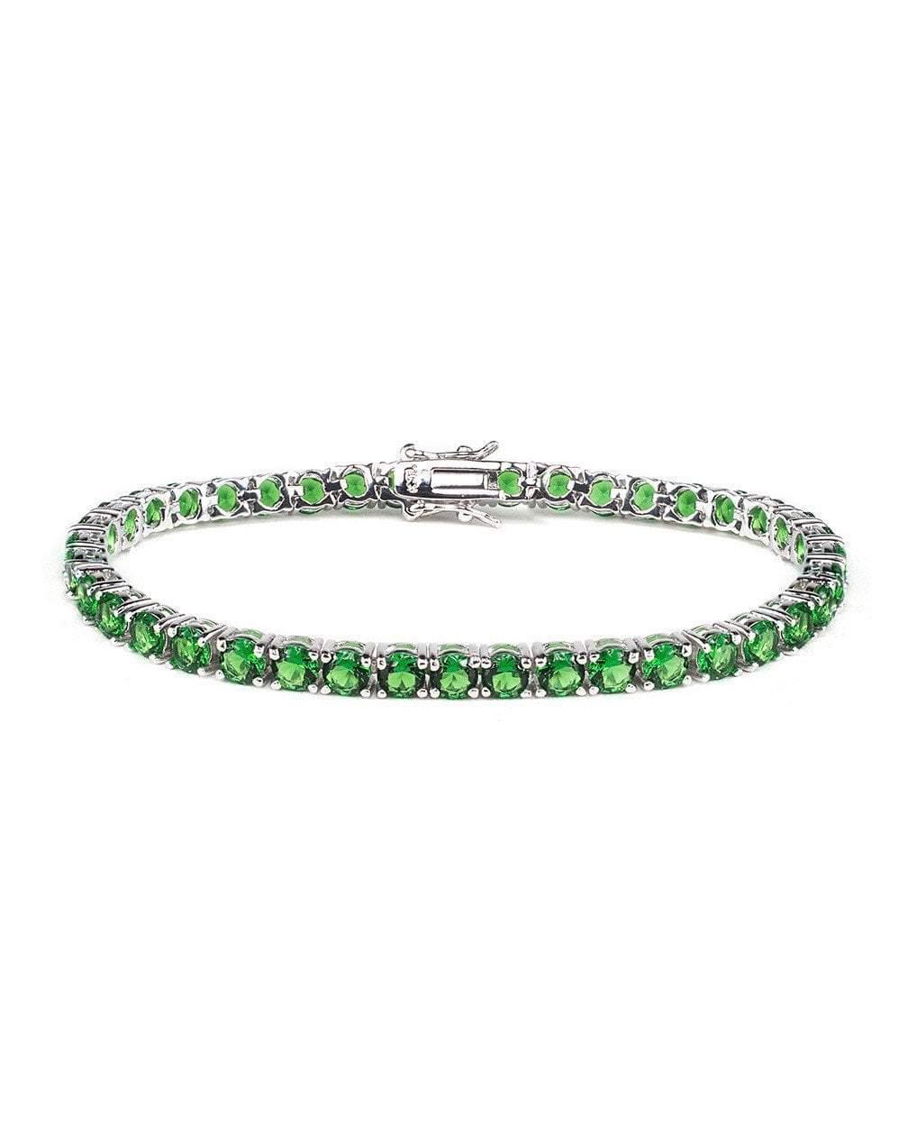 CZ by Kenneth Jay Lane - Classic Emerald Tennis Bracelet