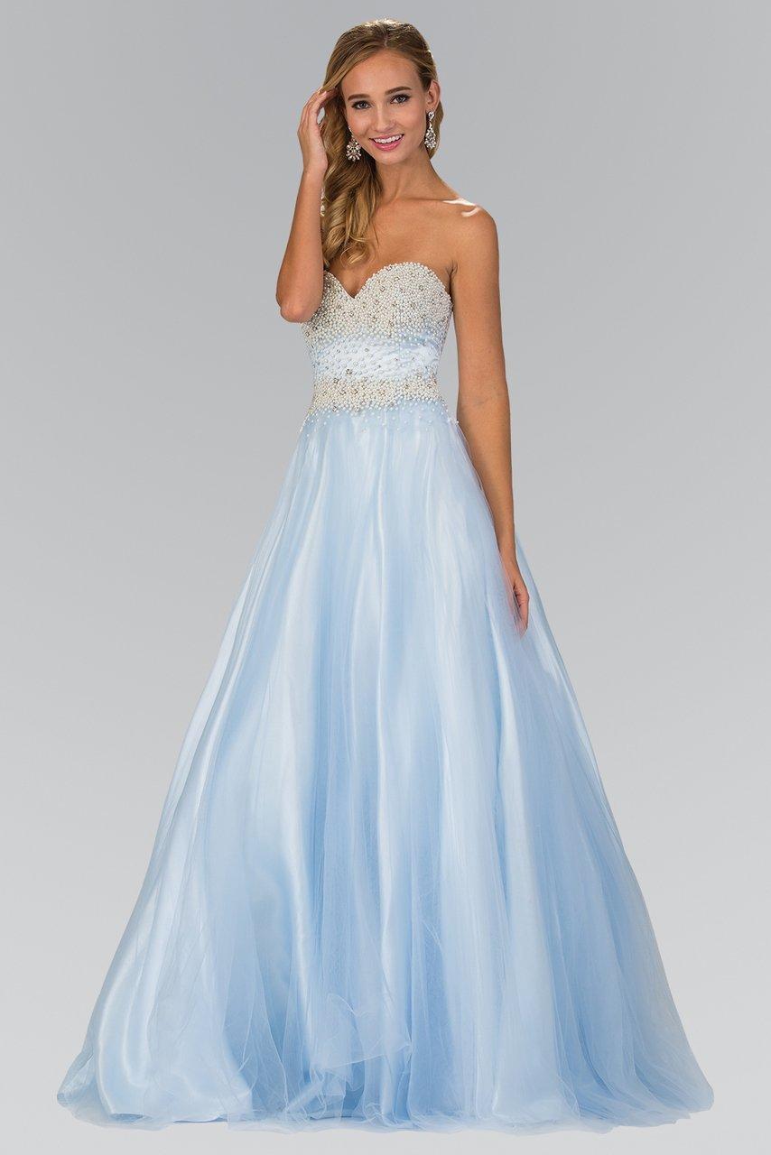 Elizabeth K - GL2155 Beaded Sweetheart A-Line Gown