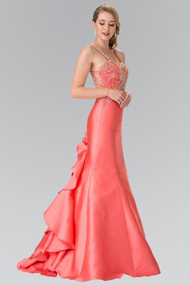 Elizabeth K - GL2214 Beaded Sweetheart Trumpet Gown