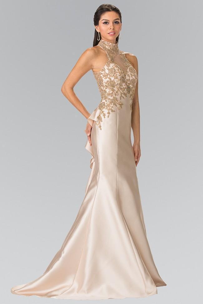 Elizabeth K - GL2280 High Neck Mermaid Gown