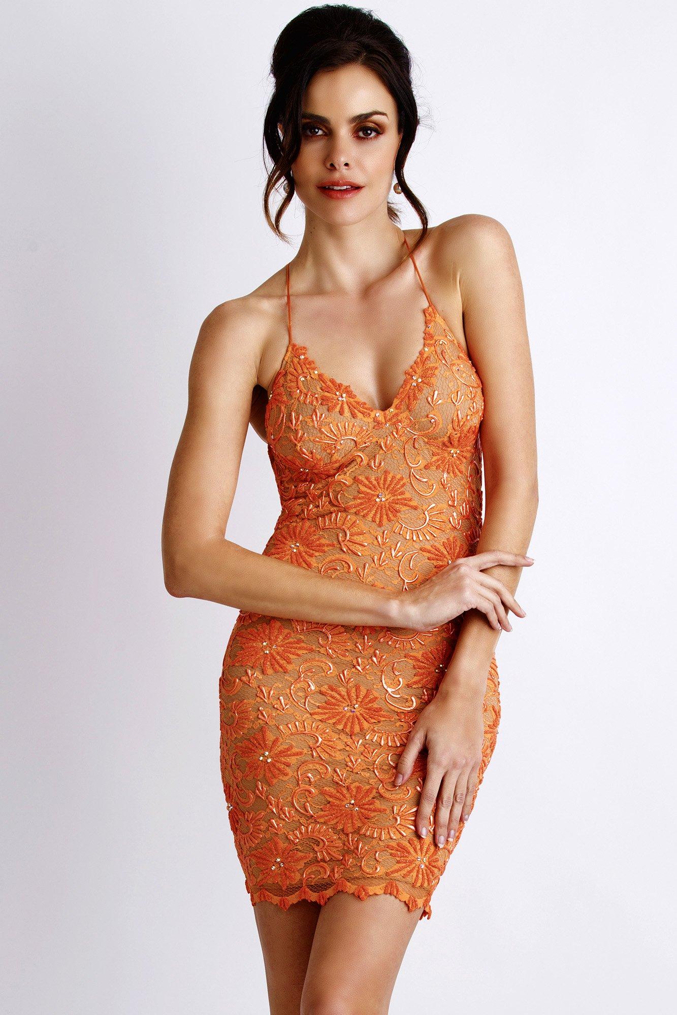Baccio Couture - Mariela Paint Caviar Orange