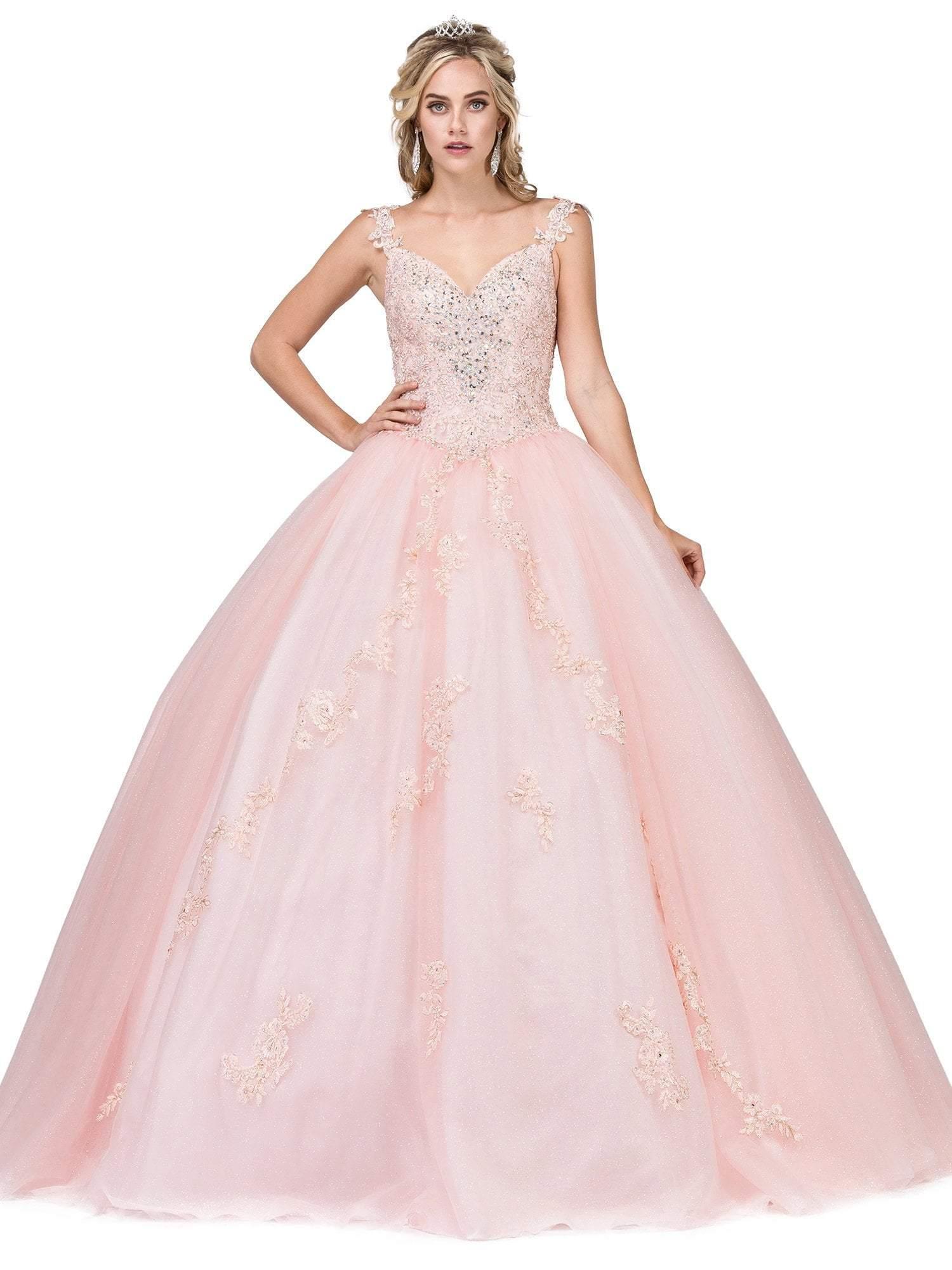 Dancing Queen - 1277 Embellished Sweetheart Quinceanera Ballgown