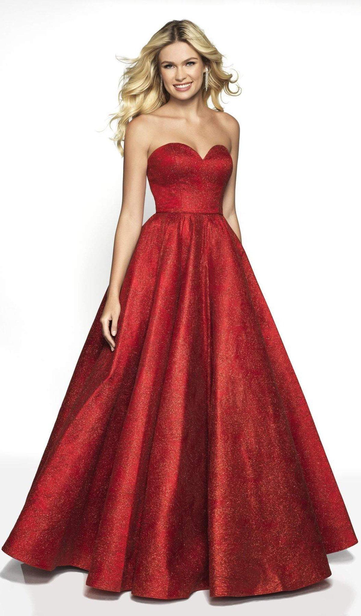 Blush by Alexia Designs - 5705 Strapless Sweetheart Ballgown