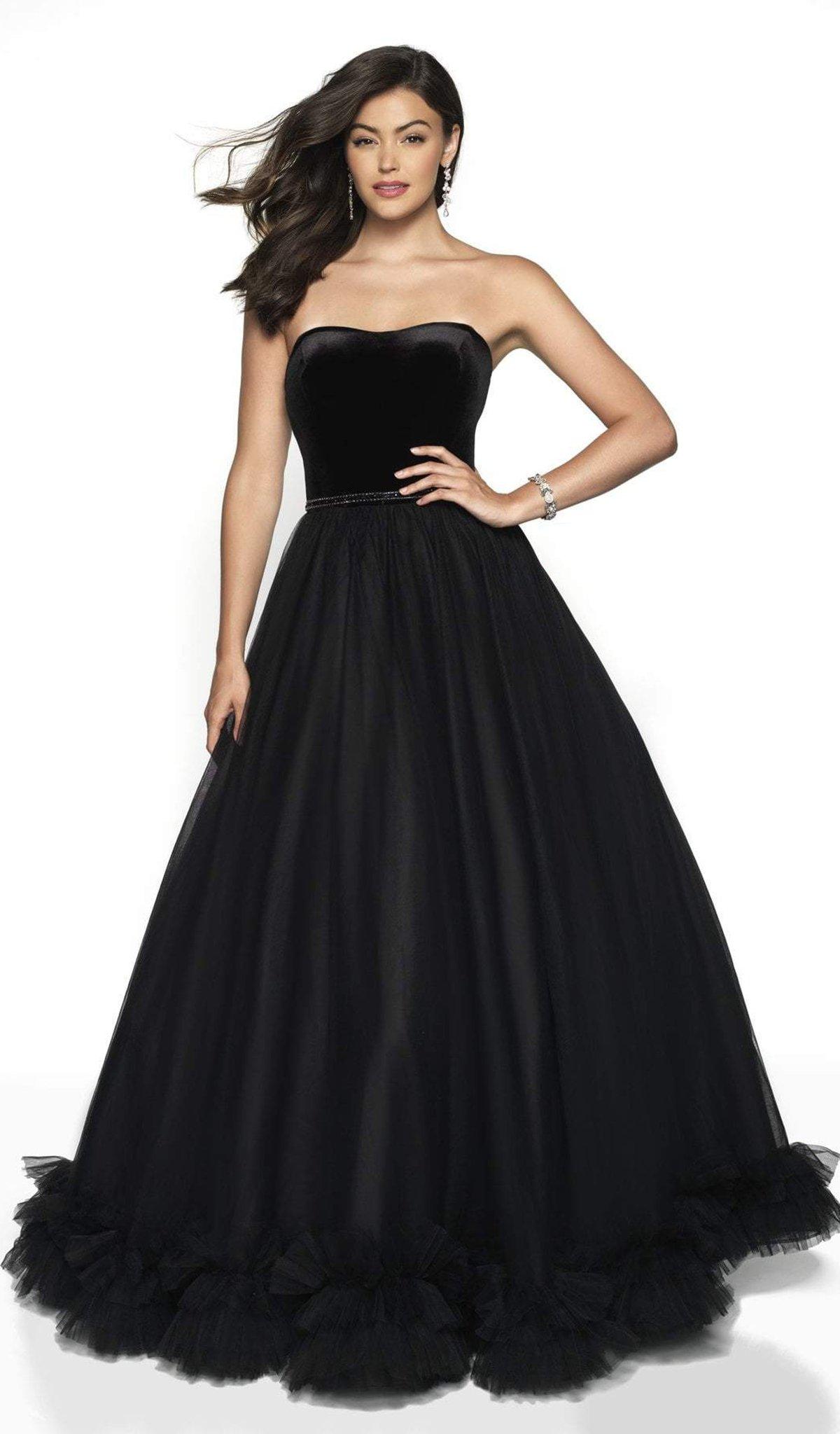 Blush by Alexia Designs - 5726 Sweetheart Ruffled Ballgown