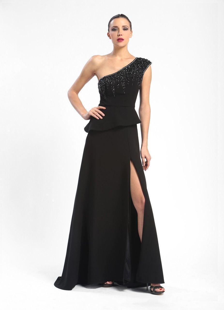 Sue Wong - Asymmetric A-Line Dress N5247