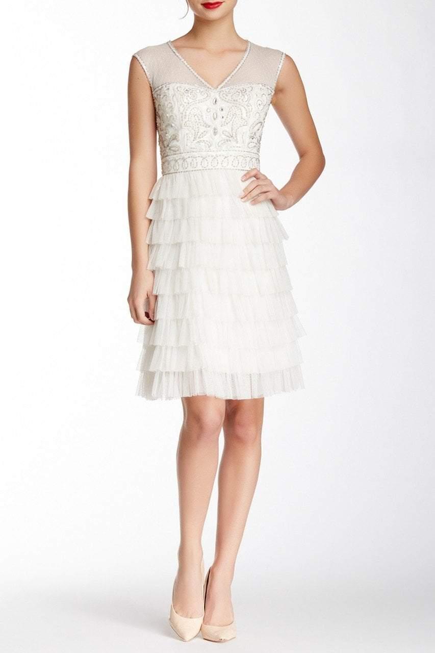 Sue Wong - Beaded Layered Ruffle Short Dress W4230S
