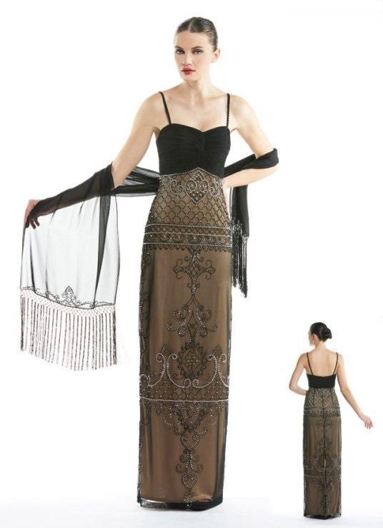 Sue Wong - Bedazzled Sweetheart Sheath Dress N5431