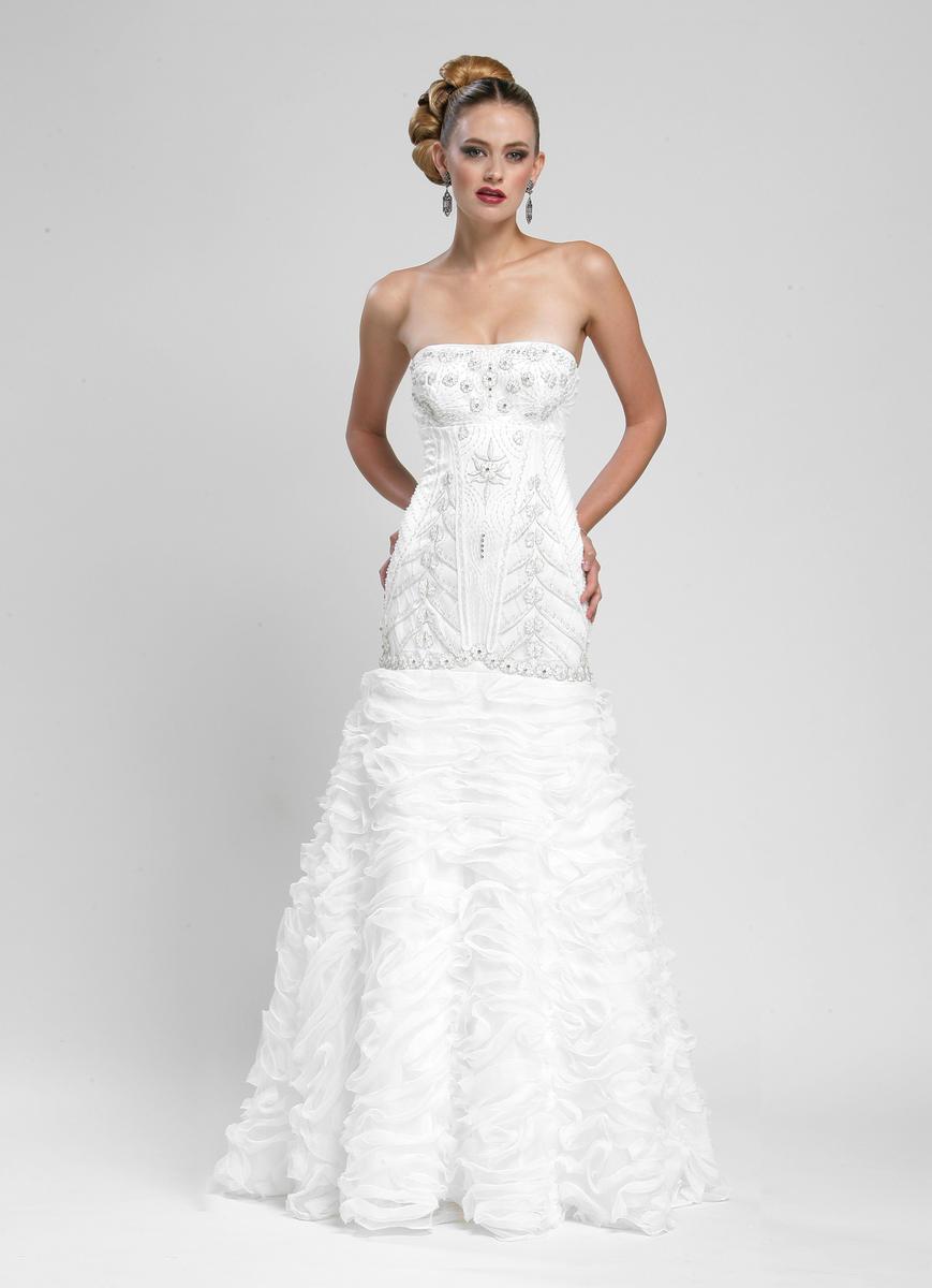 Sue Wong - Semi-Sweetheart Mermaid Dress W3403