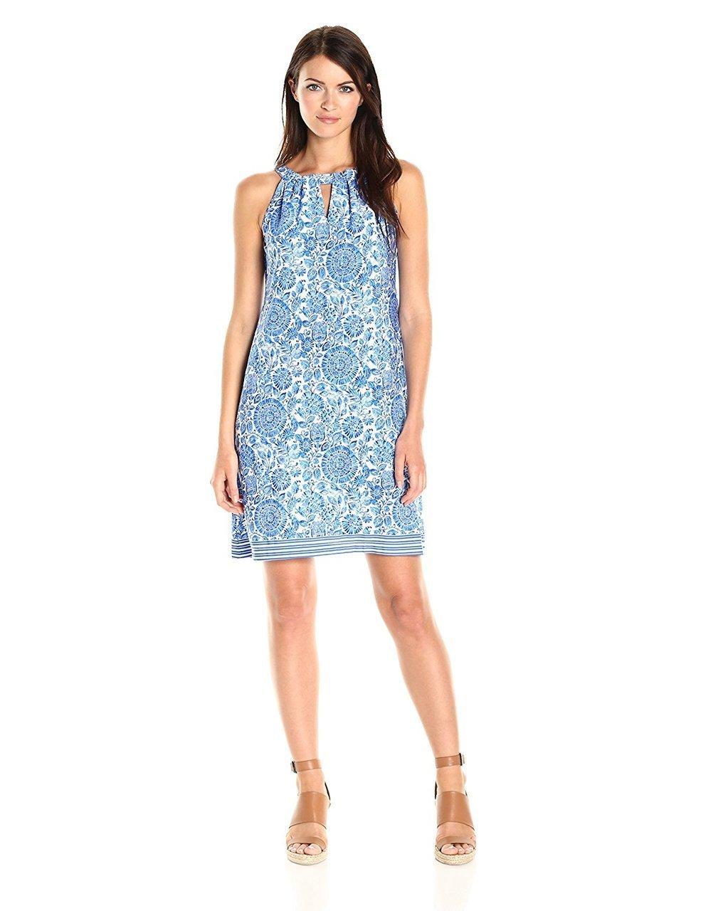 Taylor - 9171MJ Aquarelle Print Sheath Dress