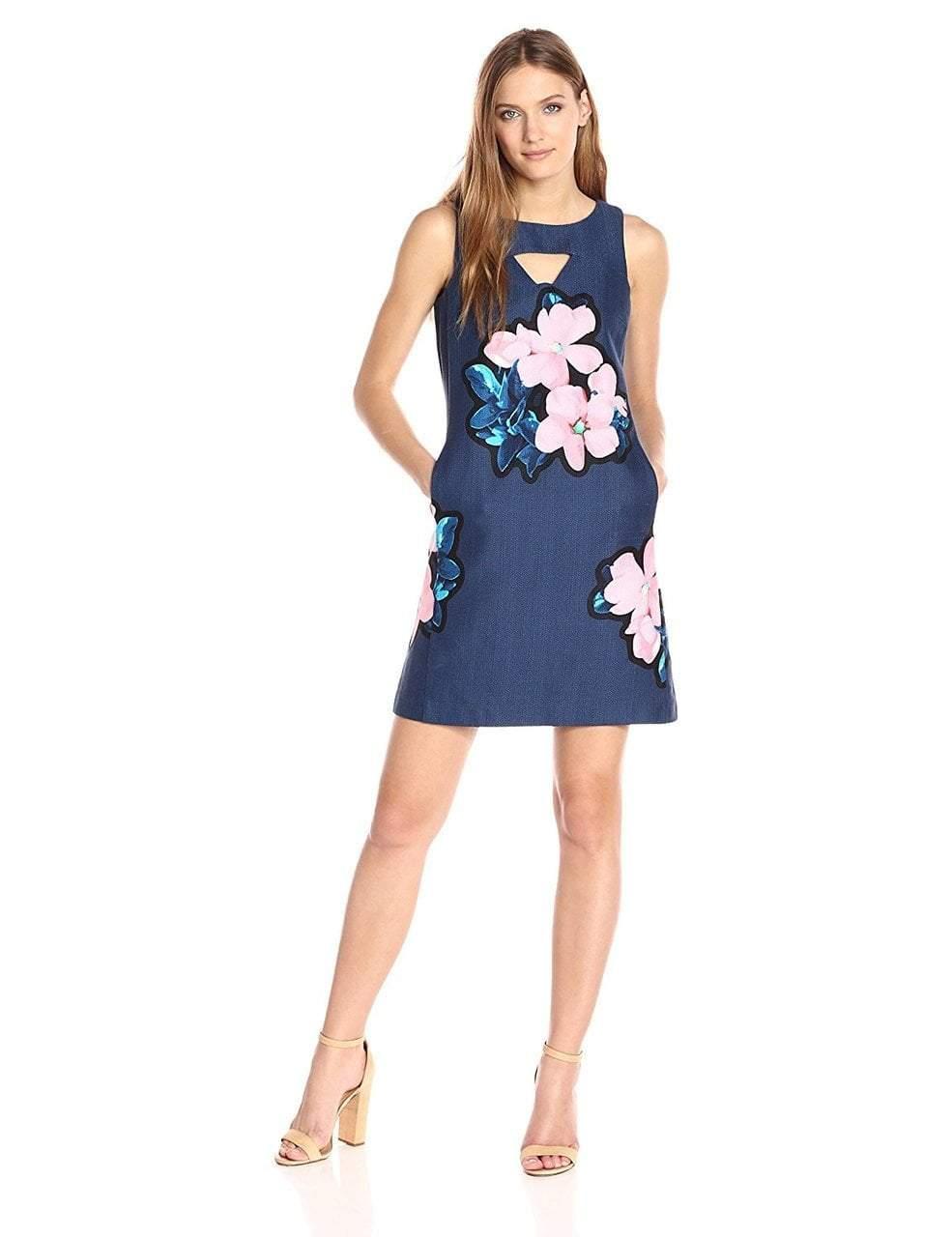 Taylor - Bateau Neck Sheath Dress 8836M
