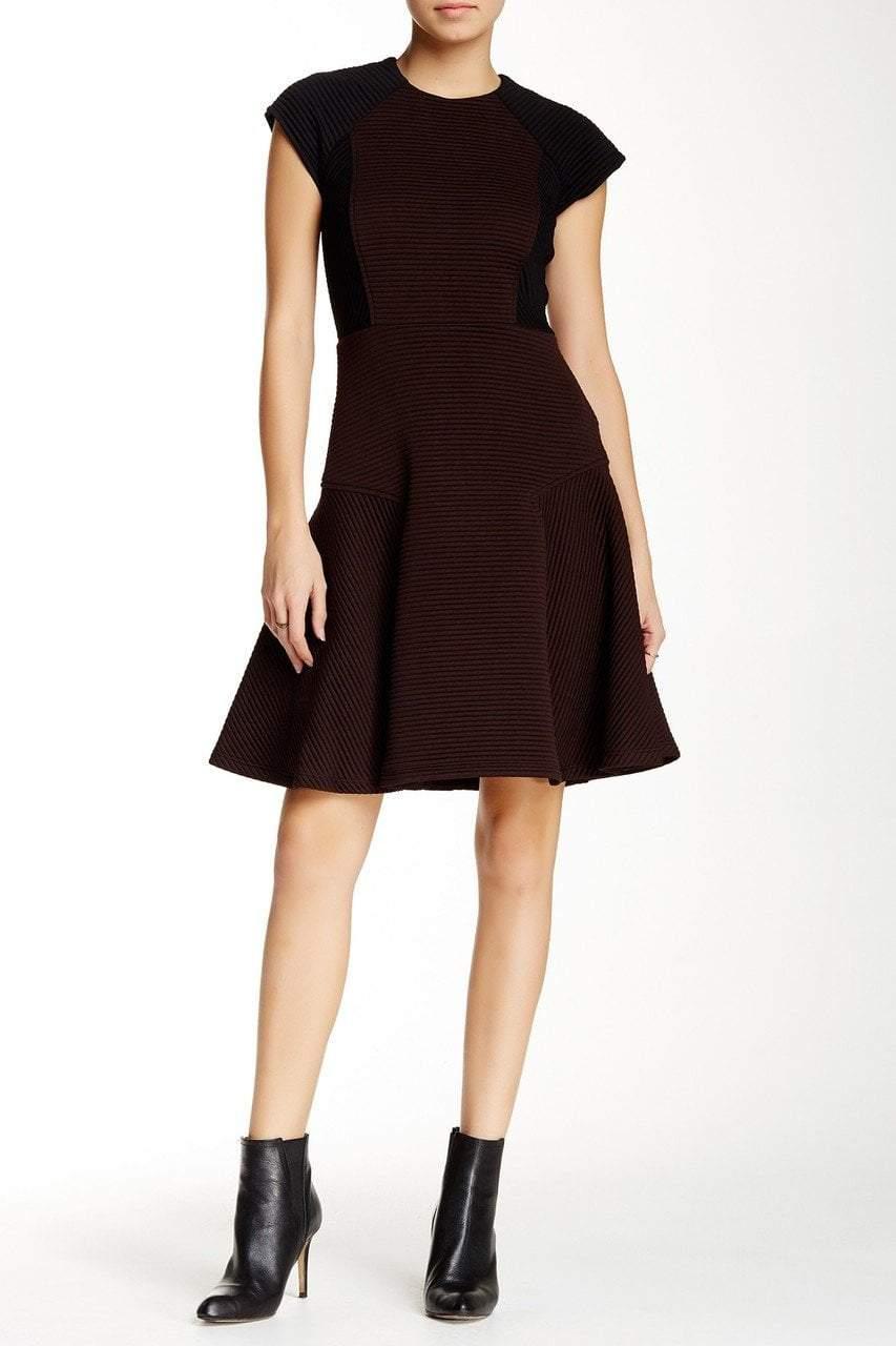 Taylor - Color Block Ribbed Dress 5808M