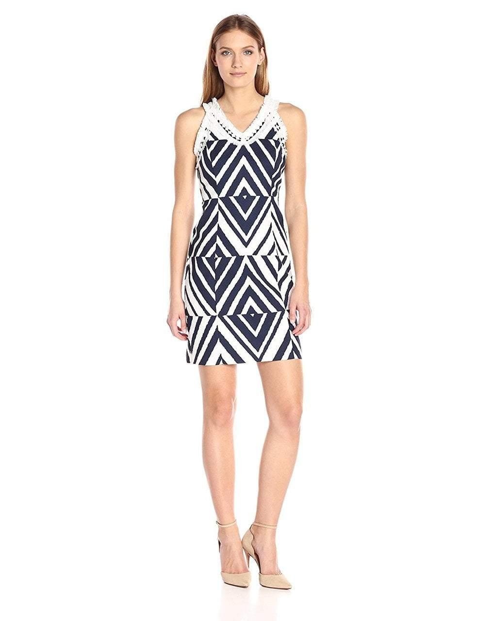 Taylor - Embellished Halter Neck Dress 8736M
