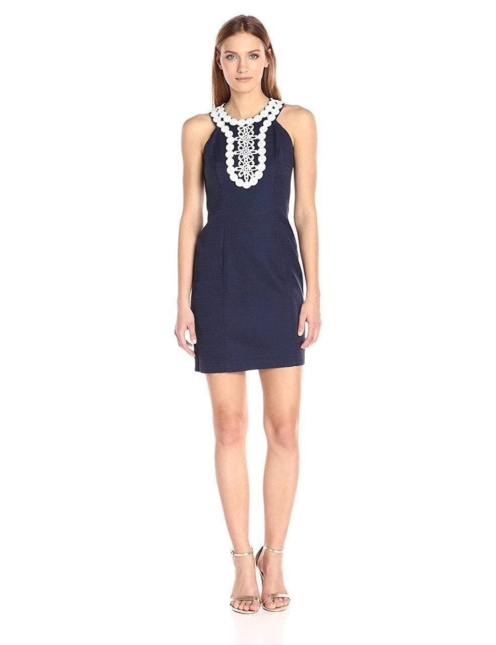Taylor - Embellished Halter Neck Dress 8814M