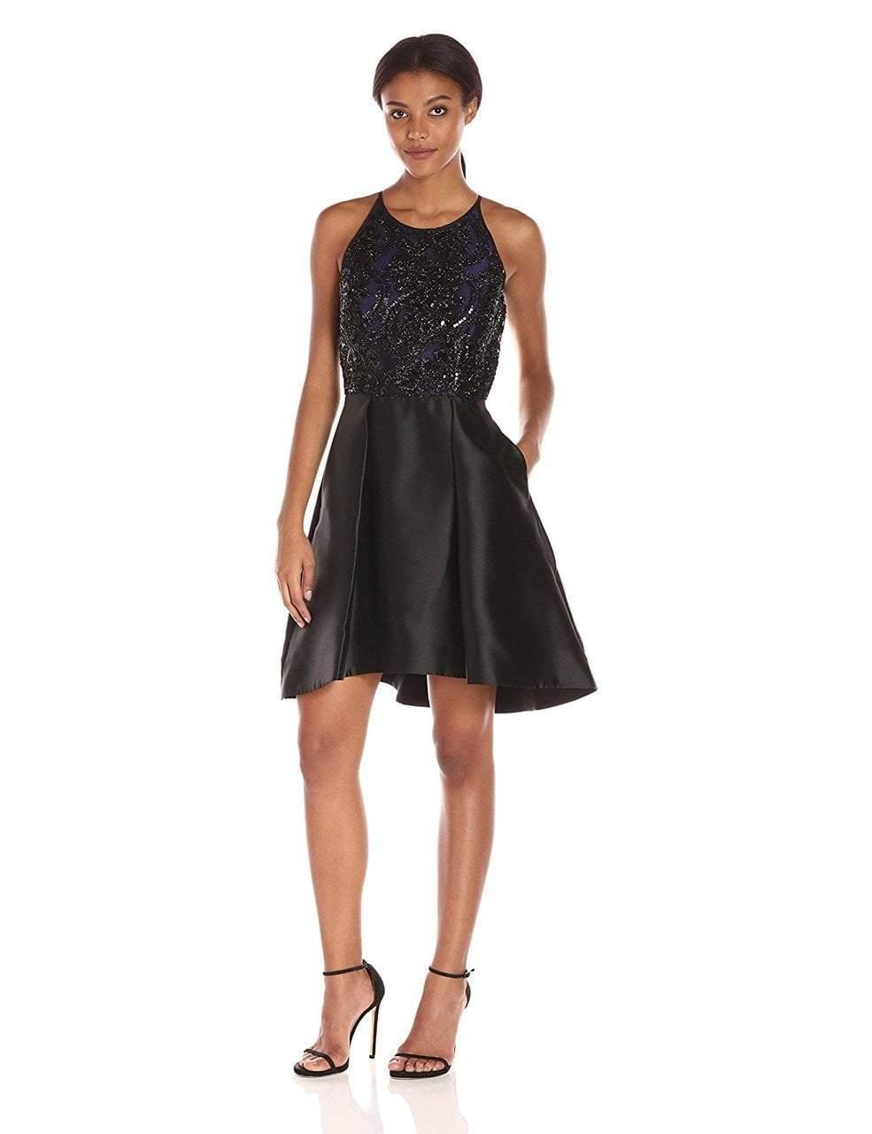 Taylor - Halter Neck A-Line Dress 8419M